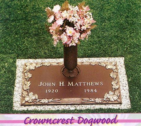 Matthews Bronze Flush Marker 1