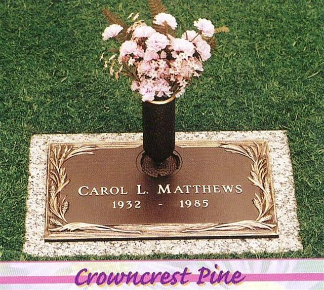Matthews Bronze Flush Marker 4