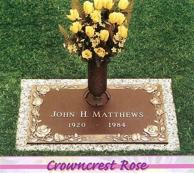 Matthews Bronze Flush Marker 5