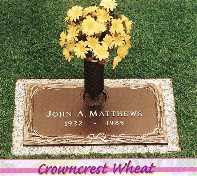 Matthews Bronze Flush Marker 6