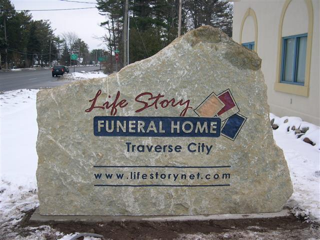 Commercial Sign – Life Story