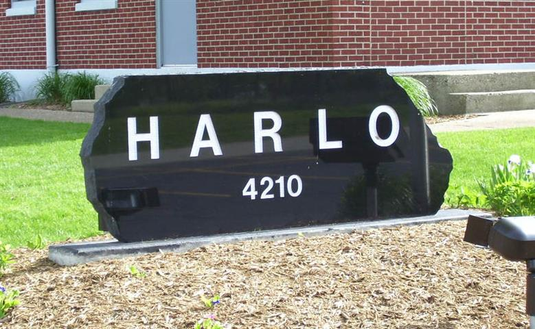 Commerical Sign Harlo