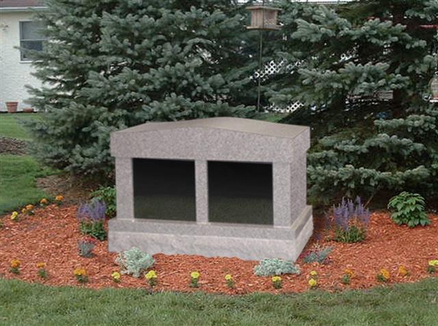Blank Cremation Columbarium
