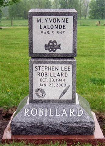Robillard Cremation Monument